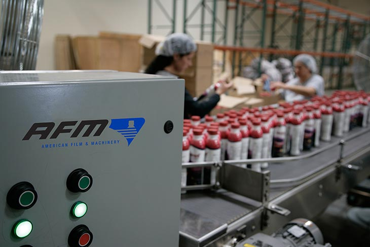 AFM also offers Contract Labeling Services for labeling and fulfillment